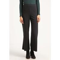 Topshop Spodnie materiałowe black TP721A05M