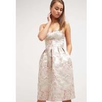 Miss Selfridge Sukienka koktajlowa taupe/beige MF921C09K