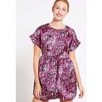 Just Cavalli Sukienka letnia pink JU621C05T