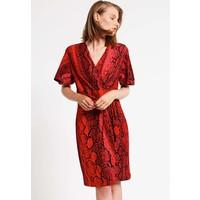 Just Cavalli Sukienka z dżerseju red JU621C05J