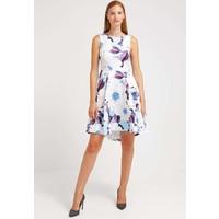 Closet Sukienka koktajlowa white/blue purple CL921C07E
