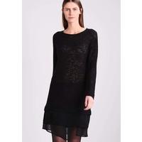 Sisley Sukienka koszulowa black 7SI21C05X