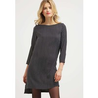 Sisley Sukienka letnia black/white 7SI21C05S
