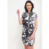 Sisley Sukienka koszulowa black 7SI21C05P