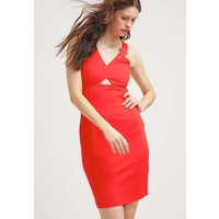 Versace Jeans Sukienka z dżerseju rojo 1VJ21C029