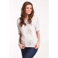 Monnari T-shirt z motywem kwiatowym TSHPOL0-16J-TSH4660-KM15D500-R0S