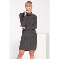 Monnari Jesienna sukienka boucle SUKIMP0-16J-DRE2480-KM19D601-R0S