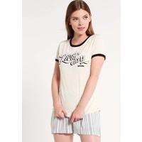 Rip Curl T-shirt z nadrukiem white smoke RI721D03A