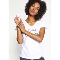 Rip Curl CHILLANCITO T-shirt z nadrukiem optial white RI721D035