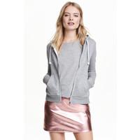 H&M Bluza z kapturem 0447401001 Grey marl
