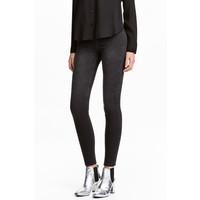 H&M Dżinsowe legginsy 0410082004 Czarny