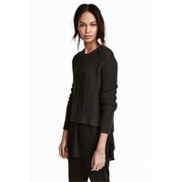 H&M Sweter 0458097004 Czarny