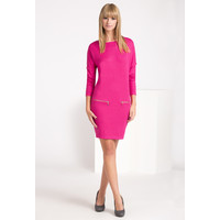 Monnari Dzianinowa sukienka z suwakami SUKIMP0-16J-DRE1890-K004D000-R0S