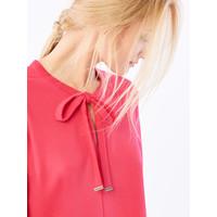 Mohito Trapezowa sukienka z wiązaniem przy dekolcie QW565-43X