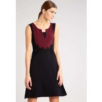 Anna Field Sukienka z dżerseju black/port royal AN621CACQ