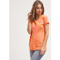 BOSS Orange T-shirt z nadrukiem bright orange BO121D05P