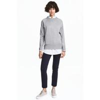 H&M Spodnie chinos Skinny 0466656003 Ciemnoniebieski