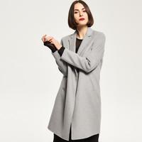 Reserved Wełniany płaszcz QP122-09M