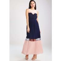 Anna Field Długa sukienka darkblue/pink AN621CAC0