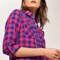 Reserved Koszula w kratę QG022-30X