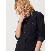Mohito Czarna jeansowa sukienka QL183-99J