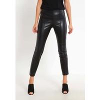 comma Spodnie materiałowe black CO121A02M