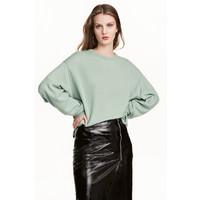 H&M Kaszmirowy sweter 0498893001 Miętowozielony