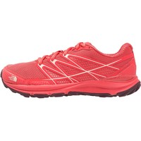 The North Face LITEWAVE ENDURANCE Obuwie hikingowe cayenne red/tropical peach TH341A02W