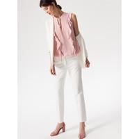Mohito Elegancka bluzka z falbanami QT990-30X