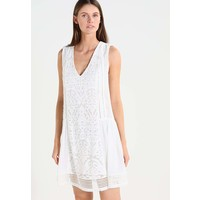 Sisley Sukienka letnia white 7SI21C06E