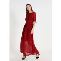 Sisley VESTITO Długa sukienka red 7SI21C06J