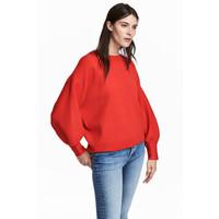 H&M Sweter 0519712002 Czerwony