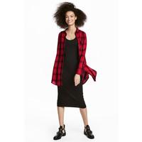 H&M Koszula 0542017008 Czerwony
