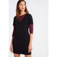 Sisley Sukienka letnia black 7SI21C06S