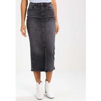 Calvin Klein Jeans EERI Długa spódnica grey denim C1821B01D
