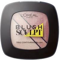 L'Oréal Paris -Róż do policzków- Blush Sculpt Trio Contouring Blush 101 100-AKD07F