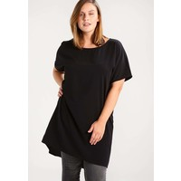 Zizzi Tunika black solid Z1721E04C