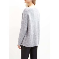 Vila VIPLACE Sweter light grey melange V1021I0H8