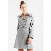 Miss Selfridge TRIM BELTED COAT Płaszcz wełniany /Płaszcz klasyczny grey MF921U00J