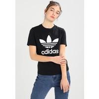 adidas Originals REFOIL TEE T-shirt z nadrukiem black AD121D0HV