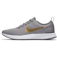 Nike Sportswear DUALTONE RACER SE Tenisówki i Trampki gunsmoke/atmosphere grey/white/metallic gold NI111S09R