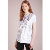 Versace Jeans T-shirt z nadrukiem bianco ottico 1VJ21D02Z