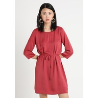 Vila VICAVA 3/4 SLEEVE DRESS Sukienka letnia earth red V1021C16C