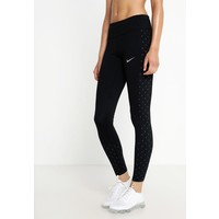 Nike Performance RACER Legginsy black/(reflective silv) N1241E0NY