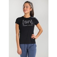 super.natural ESSENTIAL TEE Koszulka sportowa jet black/vapor grey SN041D001