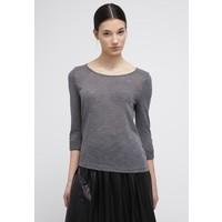 ONLY ONLJESS 3/4 Bluzka z długim rękawem dark grey melange ON321D0GD