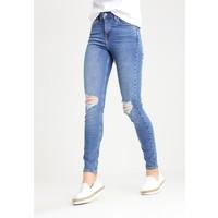 Topshop JAMIE NEW Jeansy Skinny Fit blue TP721N057