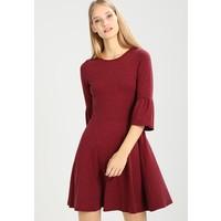 Dorothy Perkins FLUTE SLEEVE SOFT TOUCH Sukienka z dżerseju berry DP521C1A7