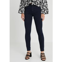 Missguided Petite ANARCHY MID RISE Jeansy Skinny Fit dark blue M0V21N014