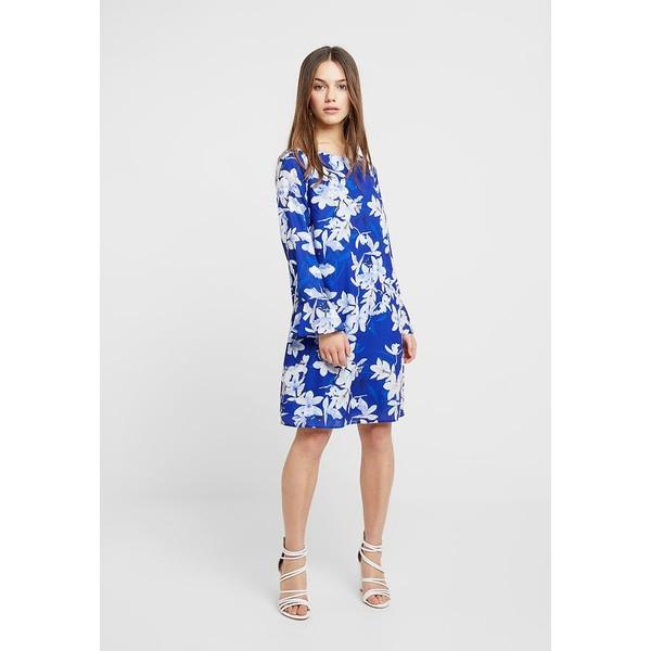 Wallis Petite ORIENTAL FLORAL SHIFT DRESS Sukienka letnia blue WP021C05V